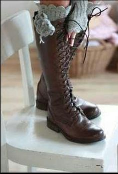 Okay so not DIY but! Gotta have good boots for steam punk