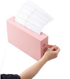 Pink paper shredder.