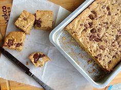 Abóbora Menina: Barrinhas de Manteiga de Amendoim e Chocolate
