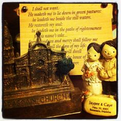 #Barasoainchurch and personalized #Papemelroti figurine