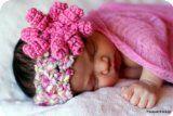 Baby Crochet Pattern Curly-Q Headband