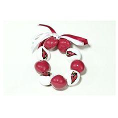 Arizona Cardinals 101 Holiday Gift Ideas:  Arizona Cardinals 9-Nut Kukui Nut Bracelet $18.00