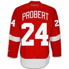 Red Wings Bob Probert Memorabilia