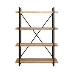 Rustic Geometry Shelf   dotandbo.com