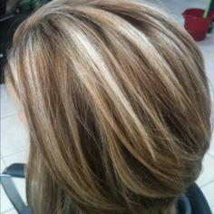100% white hair transformed into a multi tonal blonde | Hair ...
