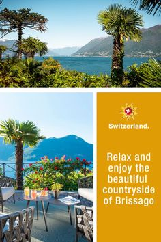 Brissago – learn more about Switzerland's hidden gems Switzerland Tourism, Small Towns, Countryside, Restoration, Landscape, Nature, How To Make, Relax, Gems