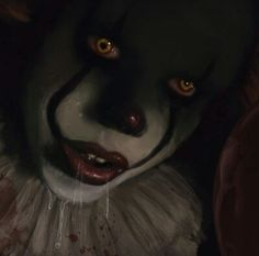 Would smash Arte Horror, Horror Art, Horror Icons, Bill Skarsgard Pennywise, Pennywise The Dancing Clown, Clowning Around, Creepy Clown, Evil Clowns, Scary Movies