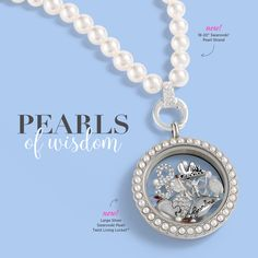 Origami Owl Pearl |