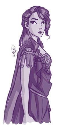 Reyna / Heroes of Olympus / art by Juliajm15