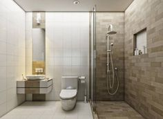 Today, we are going to dowse you in wonderful modern shower inspiration that we think will have you calling your bathroom designer for a revamp! Minimalist Showers, Modern Minimalist, Modern Shower, Shower Inspiration, Bathroom Toilets, Modern Interior, Bathtub, House Design, Home Decor
