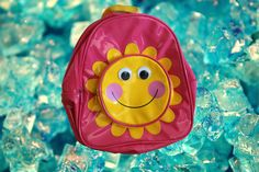 90's Sunsine Mini Backpack by PlanetVoid on Etsy