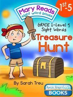 1st Grade sight word books by Sarah Treu Angel Street Kids