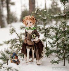 Авторские куклы и игрушки Ирины Черепановой / Изготовление авторских кукол своими руками, ООАК / Бэйбики. Куклы фото. Одежда для кукол