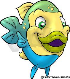 Wacky World Studios - Surgeonfish Male A, $9.00 (http://themes-to-go.com/surgeonfish-male-a/)