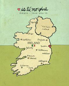 i <3 ireland