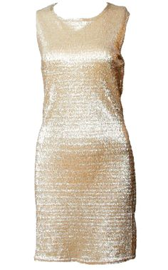 £24    http://www.pussycatlondon.com/latest-fashion-clothing-1/gold-slouch-neck-textured-dress.html?color=Gold=8