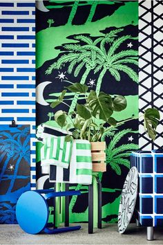 The IKEA AVSIKTILIG limited collection is a contemporary take on iconic Swedish design. These 14 powerful, bold patterns add a pop of personality to any room in your house, from the kitchen to your living room.