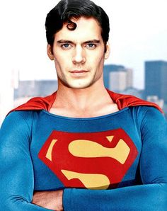 Henry Cavill as Superman @Bailey Uniqua Wilson and @Gentry Wilson  (This is a great picture, aye???)