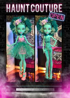 Monster+Doll+Swamp+Girl+DELUXE+high+fashion+by+HauntCoutureAtelier