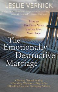 The Emotionally Destructive Marriage, Book Review Great book to help others going through this...