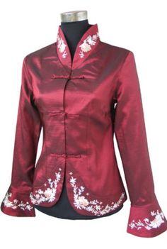 Plus Size Oriental Blouses | Oriental Chinese Evening Party Wedding Jacket Plus Size TL74