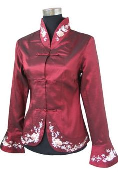 Plus Size Oriental Blouses | Oriental Chinese Evening Party Wedding Jacket Plus Size TL74