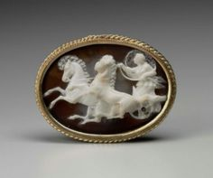 Cameo with Aurora driving a chariot      Roman, Republican or Imperial Period, 1st century B.C.–1st century A.D.