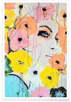 Collide als Premium poster door Leigh Viner | JUNIQE shop