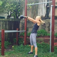 Grab a kettlebell and get after this quick but intense 12-minute workout!  Set an interval timer for 18 rounds of :10 and :30 intervals. You'll be resting on the :10 intervals and working as hard as you can on the :30 ones. Rotate through the following ex