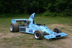 1974 Jorgensen Eagle 755 captured at the Sommet des Légendes at Mont Tremblant in Chassis: Engine: Chevy 5 litre Tra. Jorgensen Eagle 2 of 3 Indy Car Racing, Indy Cars, Dan Gurney, Classic Motors, Fat Man, Vintage Racing, Nascar, Grand Prix, Race Cars