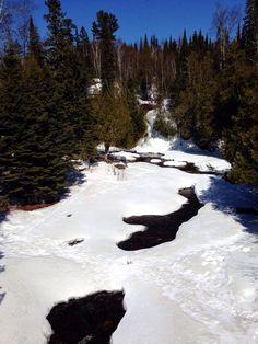 Cascade River breaking it's thaw.
