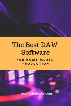 Looking at the best renowned software for music mixing and editing. Ideal for Bedroom music studio producers as well as professional music studio production. Check out our list of the best DAW software available for your music mixing desk today. Best Music Production Software, Music Production Equipment, Recording Equipment, Music Studio Decor, Home Studio Music, Music Songs, Logic Music, Music Stuff, Recording Studio Setup