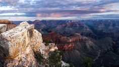 Storm passing over the Grand Canyon [OC] [20481152] #reddit