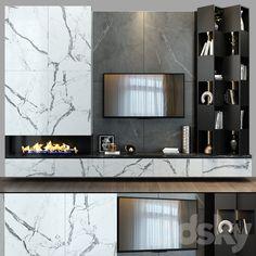 Living Room Wall Units, Living Room Tv Unit Designs, Ikea Living Room, Living Rooms, Wall Unit Designs, Tv Wall Design, Modern Tv Units, 3d Modelle, Lounge Design