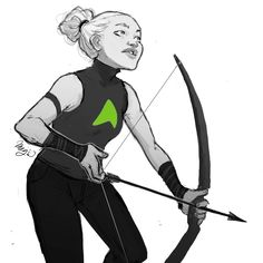 Artemis Crock Young Justice by @winchestermeg