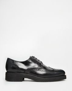 Image 2 of Selected Homme Leather Brogue Shoes