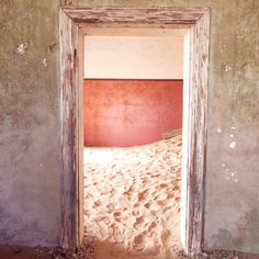 Kolmanskop is a ghost town that lies abandoned in the desert and reclaimed by sand. Here are a few tips for visiting the deserted town in Namibia. Namib Desert, Ghost Towns, Unique Photo, Taking Pictures, Coffee Shop, Abandoned, Buildings, Deserts, Houses