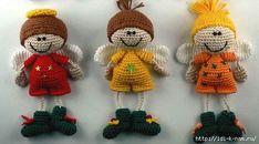 Elf, Crochet Earrings, Crochet Hats, Christmas Ornaments, Holiday Decor, Home Decor, Angels, Amigurumi, Felt
