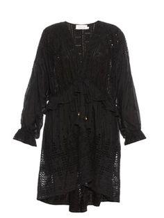Harlequin cotton and silk-blend dress   Zimmermann   MATCHESFASHION.COM