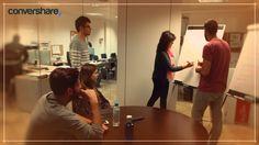 Hoy toca sesión de #Brainstorming en Convershare. Ponemos toda la mente en el asador para que fluyan las ideas más creativas. ¡Vamos equipo! :)