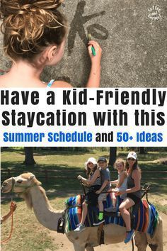 Having the kids home for summer can be overwhelming. Use this free summer schedule weekly calendar from Coffee and Carpool with over 50+ ideas for each week during the summer.