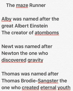 Yup that's true << Newt was named after the one who created gravity and still he was the one to test it...