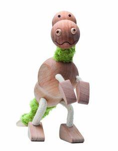 d56a359c5112 Anamalz Tyrannosaurus Rex Wooden Toy Wooden Animal Toys