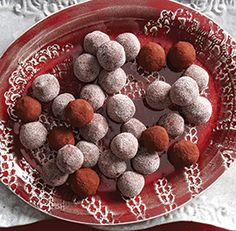 Chocolate-Chile Truffles | Fine Cooking 021416