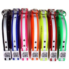Reflective ScruffTag QR Code Dog Collars - Make sure your dog is seen at night AND have a wealth of information on their collar if they get lost. QR Codes come with lifetime membership to @PetHub gets lost pets home faster. gets lost pets home faster. Protect.Share.Nurture.
