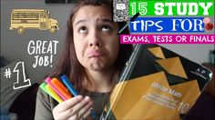 15 STUDY TIPS FOR EXAMS, FINALS AND TESTS