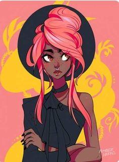 Character sketches 766737905301371735 - Super black art cartoon character design Ideas Source by ferreiraandreafa Cartoon Kunst, Cartoon Art, Black Cartoon Characters, Cartoon Drawings, Black Girl Art, Art Girl, Black Art, Bel Art, Art Du Croquis