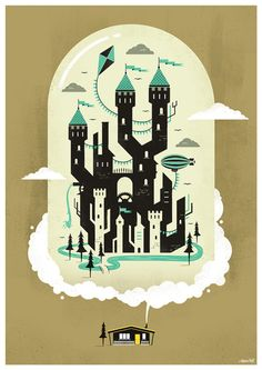 My Home Is My Castle: Illustration by Adam Hill.