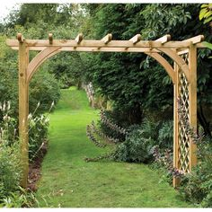 Looking for a high quality outdoor pergola? See who has the best outdoor pergola in the UK. WhatShed reveal the best outdoor pergola available online. Cedar Pergola Kits, Wooden Pergola, Outdoor Pergola, Diy Pergola, Pergola Plans, Pergola Ideas, Cheap Pergola, Pergola Pictures, Pergola Roof