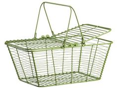 A wire basket to match my egg basket would be sweet.